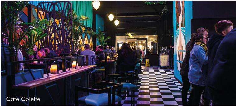 Cafe Colette - Lower Trinity Street Birmingham
